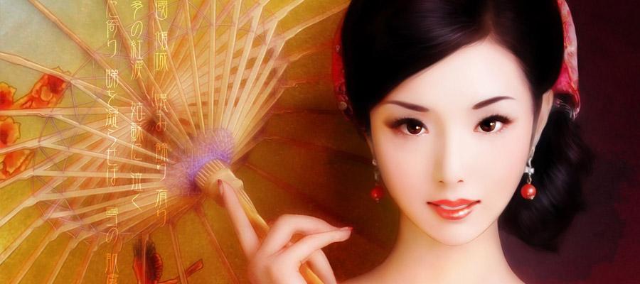 洛神赋-描绘自己女神